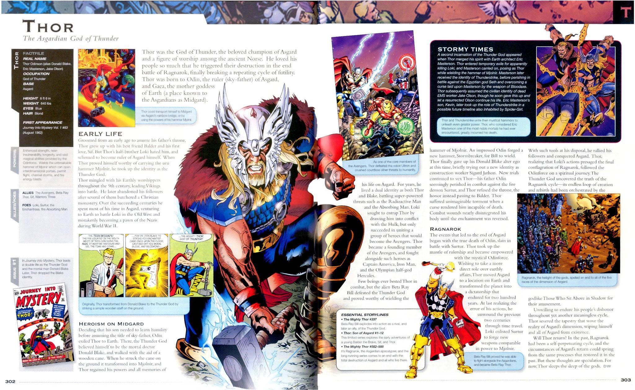 Marvel superhero book