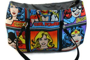 Superhero women purse