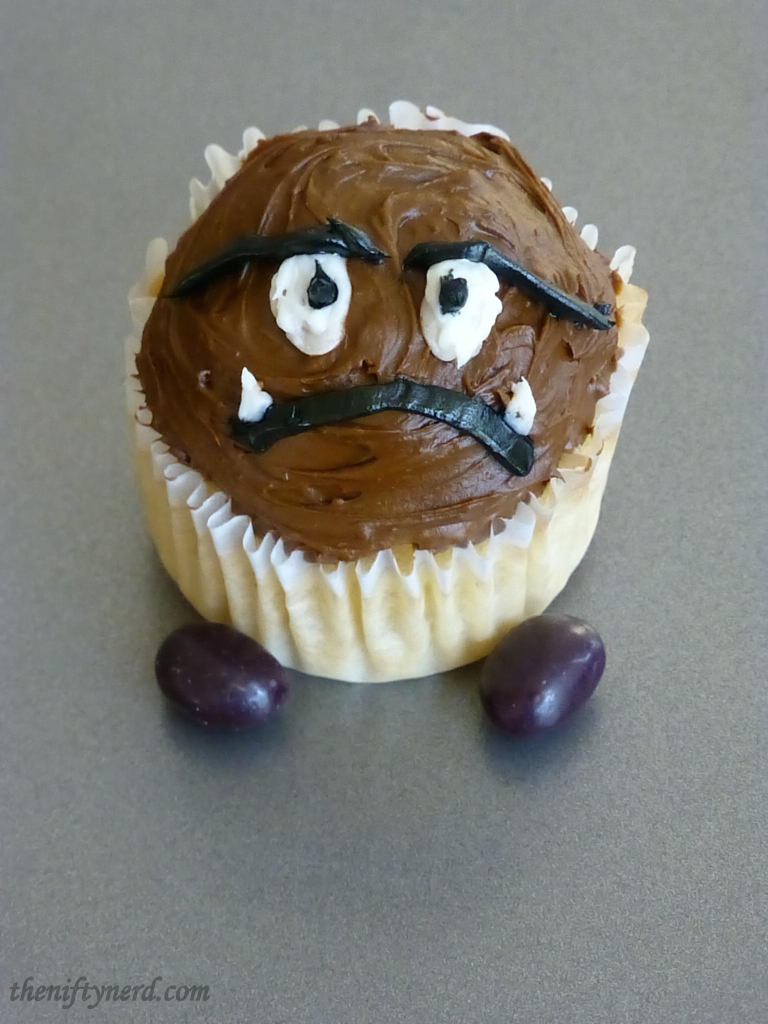 goomba cupcake