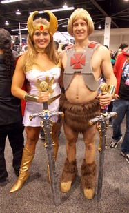 He-Man and She-Ra cosplay