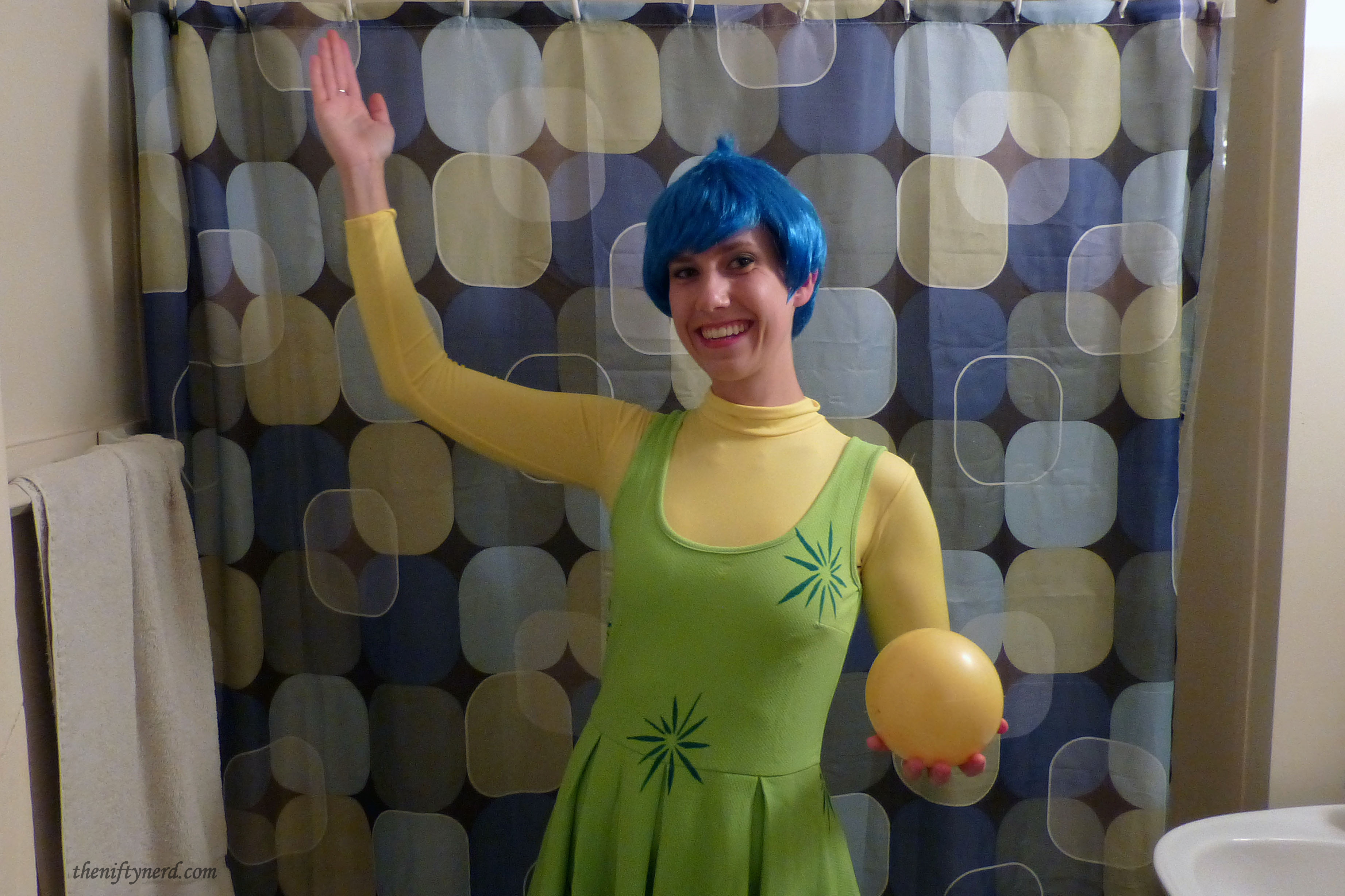 Joy Halloween costume from Inside Out