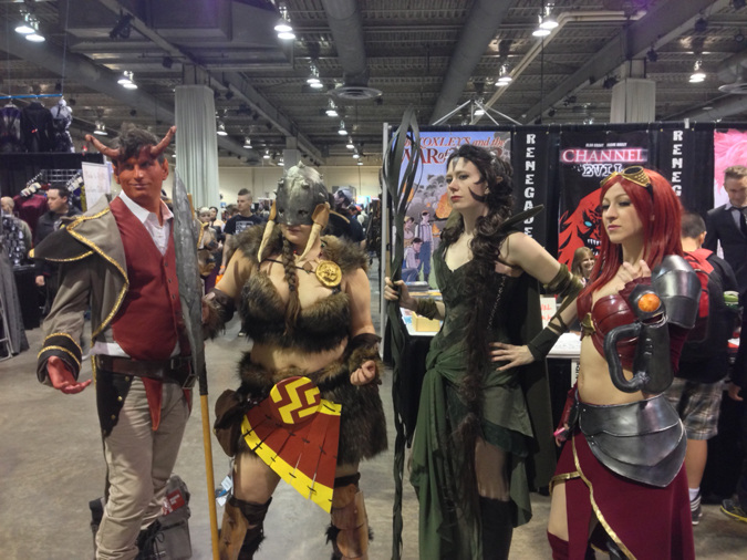 Magic the Gathering planewalker group costumes