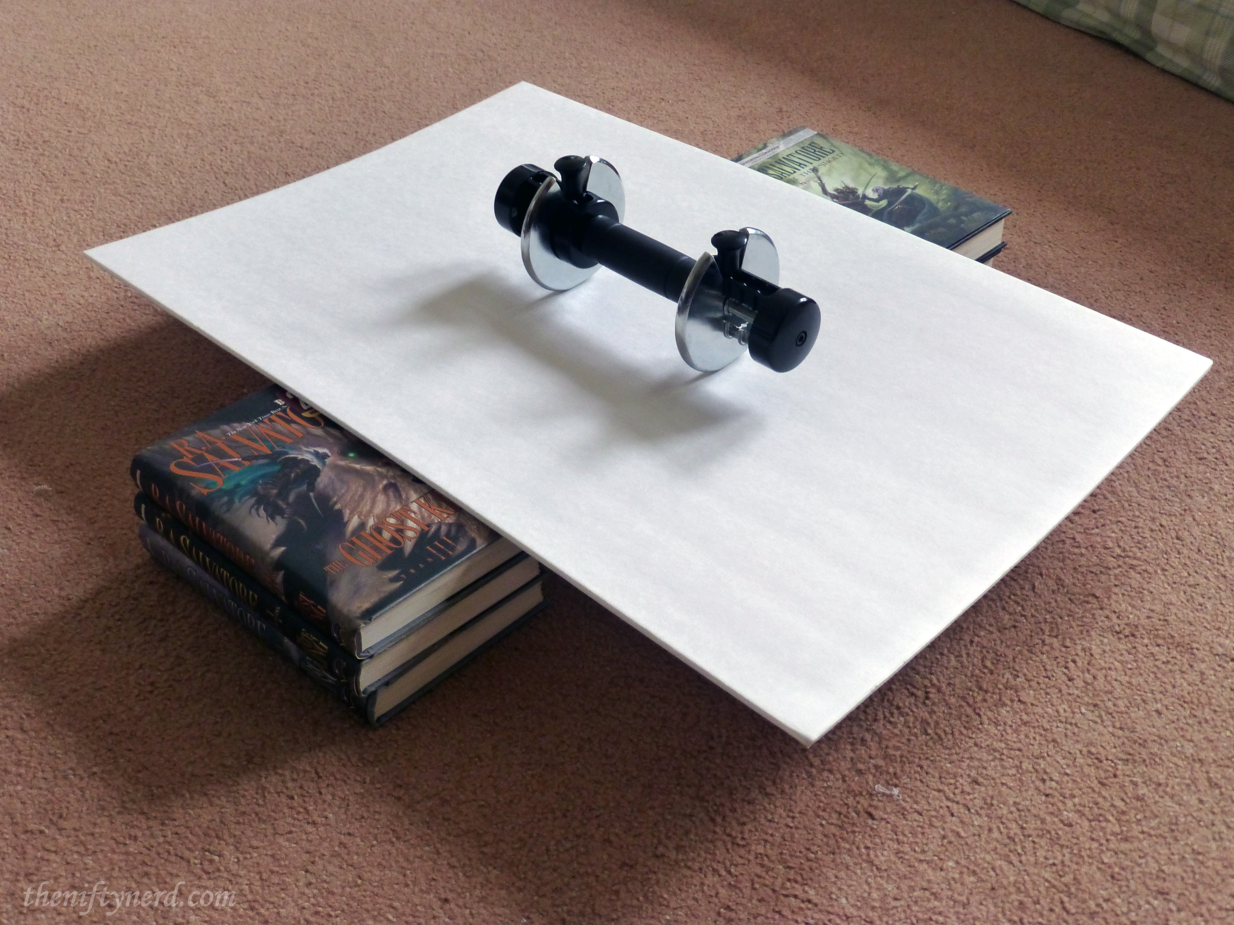 how to bend foam-core posterboard