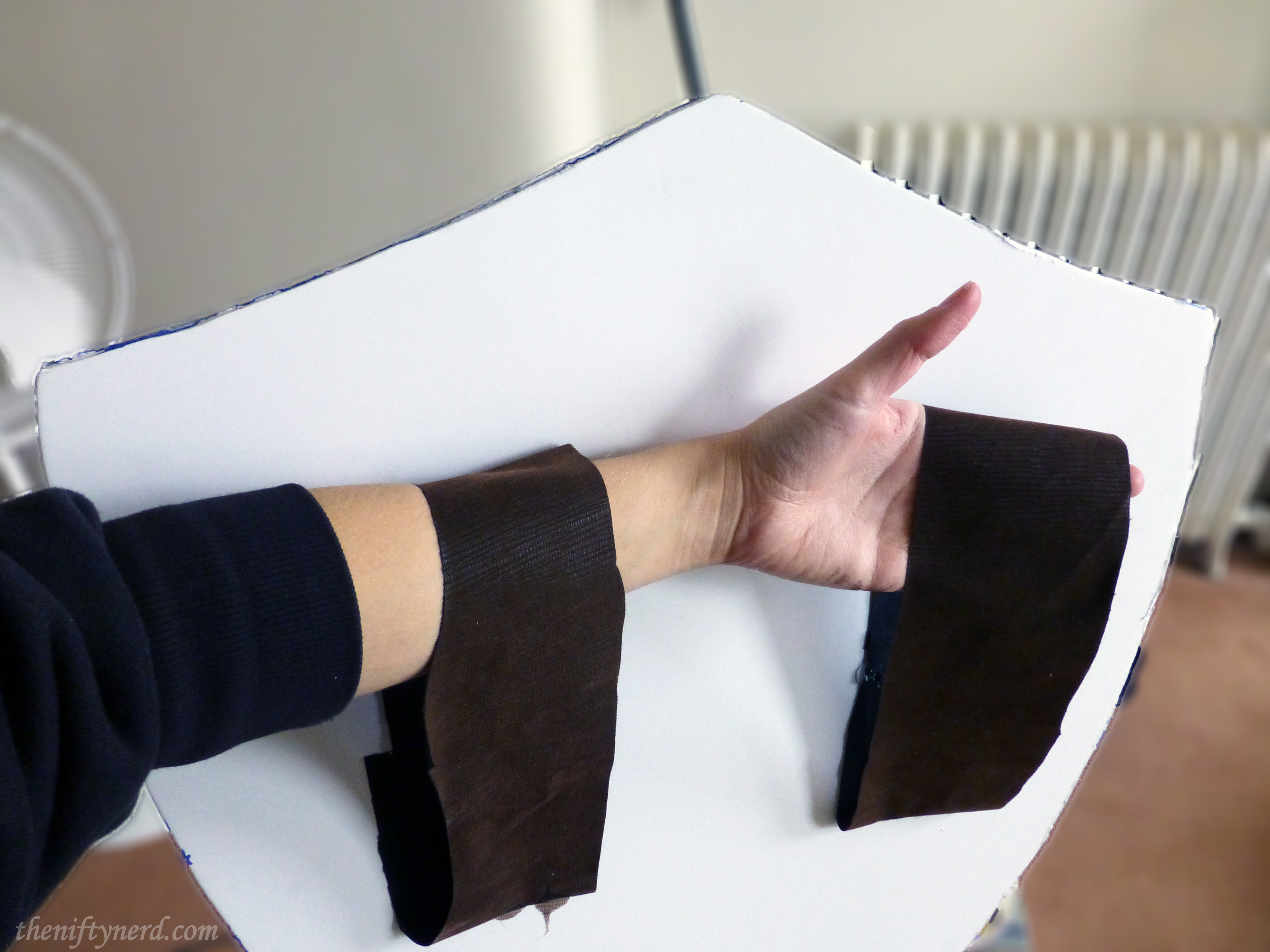 arm straps for Link's shield