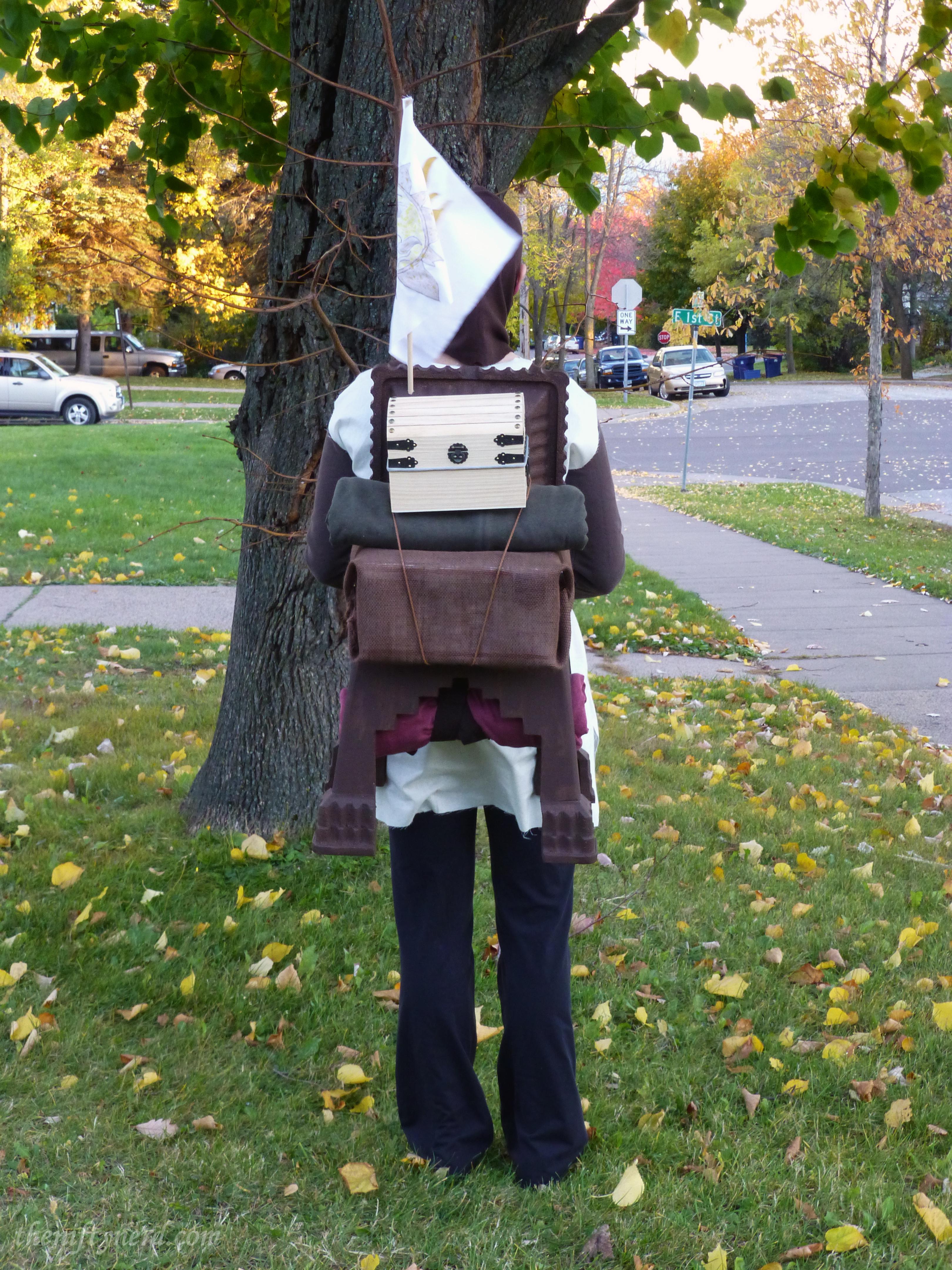 Monty Python Patsy costume