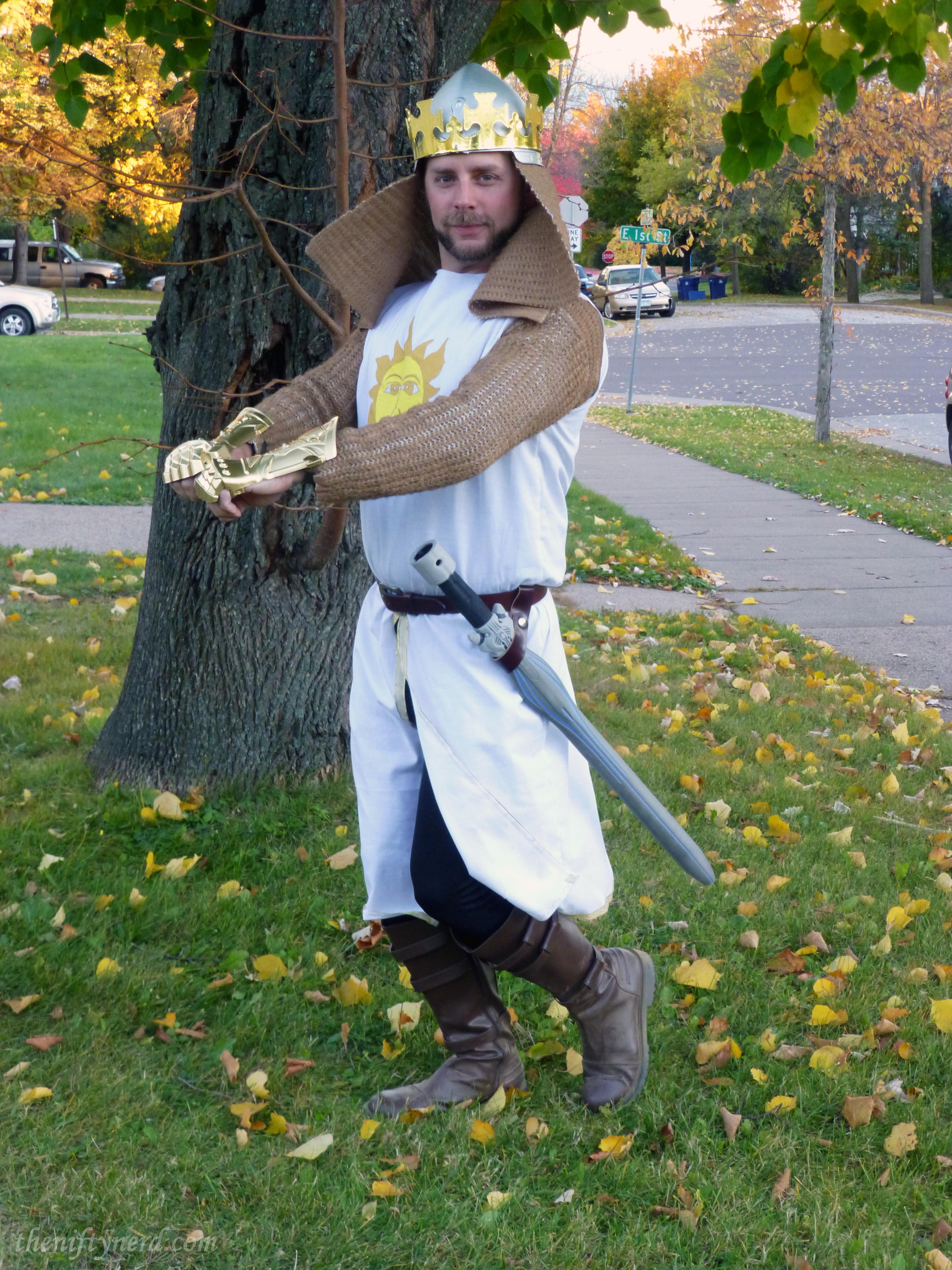 Monty Python King Arthur costume