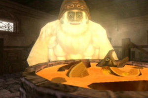 Legend of Zelda Yeto's Superb Pumpkin and Goat Cheese Soup