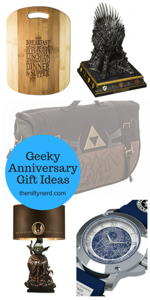 geeky anniversary gift ideas