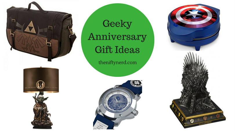 Geek Wedding Gifts: Traditional & Modern Anniversary Gifts For Geeks