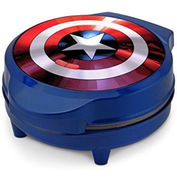 Captain America's shield waffle maker