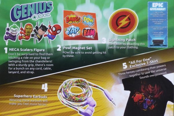 1Up Box Genius theme contents