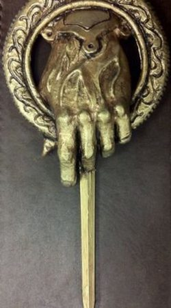 Game of Thrones Hand of the King bronze pin