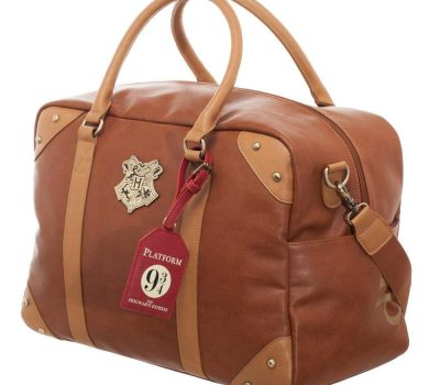 Harry Potter faux leather travel duffle bag