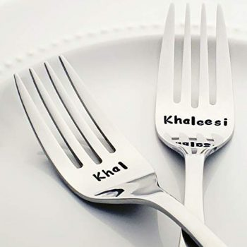 Game of Thrones Khal and Khaleesi forks