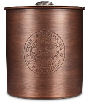 Star Wars wookie copper jar