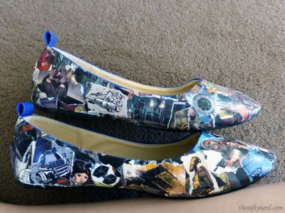 Star Wars comic book shoes