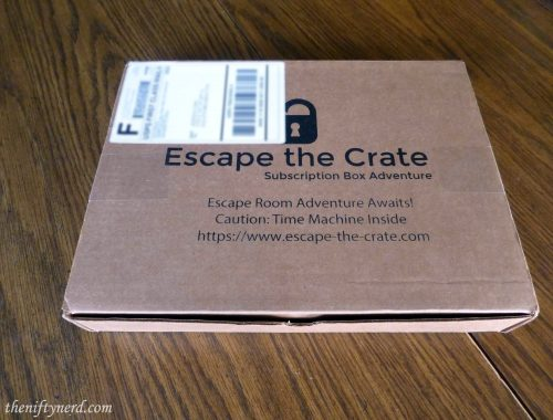 Escape the Crate monthly subscription