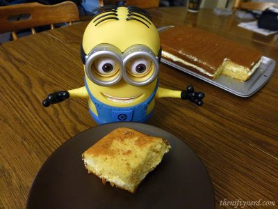 homemade minion banana flip
