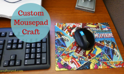 Homemade Mouse Pad Craft