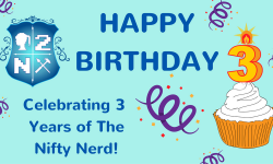 A Few of My Favorites In Honor of The Nifty Nerd Turning 3!