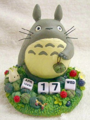 Totoro perpetual calendar