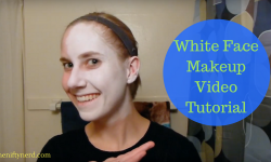 How To Apply White Costume Face Makeup