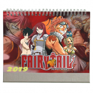 Fairy Tail anime calendar