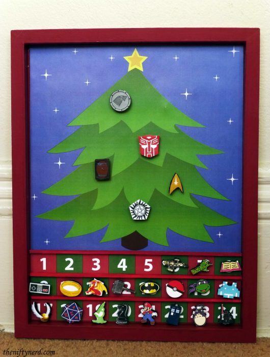 Geeky Christmas advent calendar