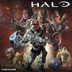 Halo wall calendar