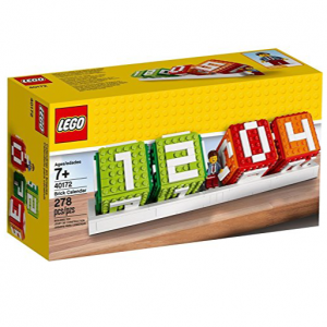 Lego brick perpetual calendar