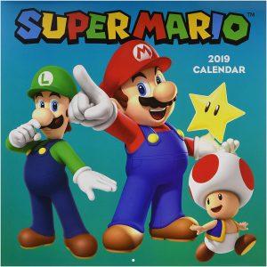 2019 Super Mario calendar