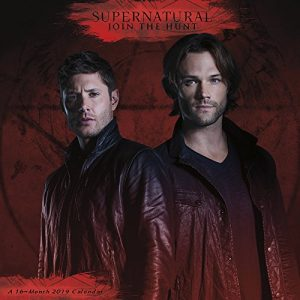 2019 Supernatural wall calendar