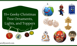 55+ Geeky Christmas Tree Ornaments, Lights, and Toppers