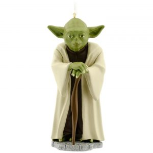 Yoda tree ornament