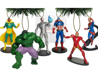 Marvel Avengers: Age of Ultron ornamet set
