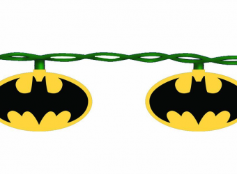 batman signal string lights