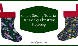 Sew Your Own Geeky Christmas Stocking