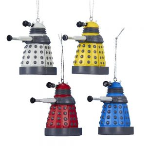 Dalek ornament set