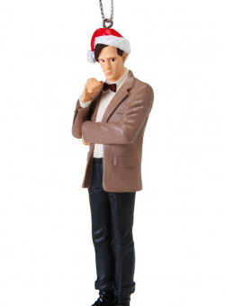 11th Doctor Christmas tree ornament