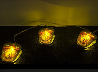 Harry Potter Gryffindor string lights