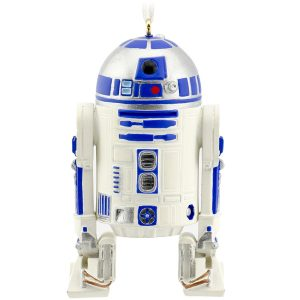 R2D2 Christmas tree ornament