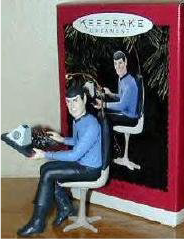 Spock tree ornament