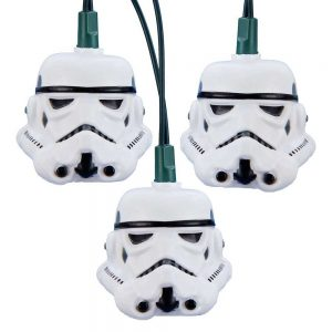 Storm Trooper helmet string lights