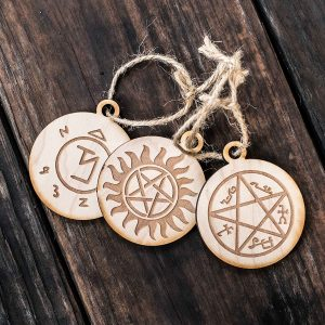 Supernatural symbols ornaments