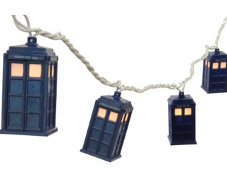 Dr. Who TARDIS string lights