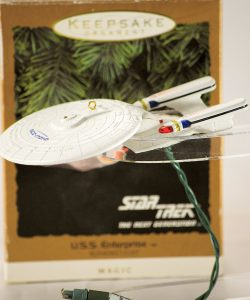 U.S.S. Enterprise Star Trek ornament