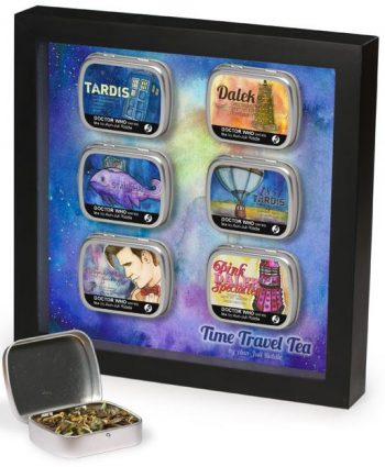 Doctor Who tea tin shadow box