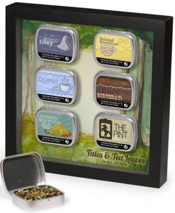 Lord of the Rings tea tin display