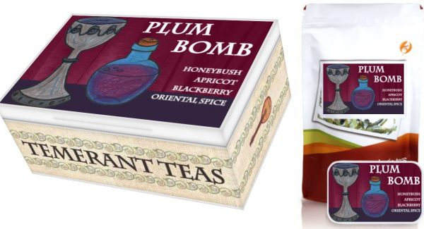 Kingkiller Chronicles plum bomb loose leaf tea