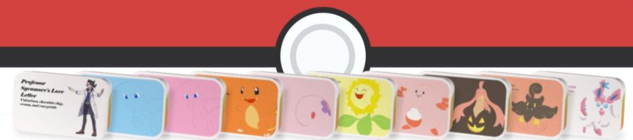 Pokemon tea tin collection